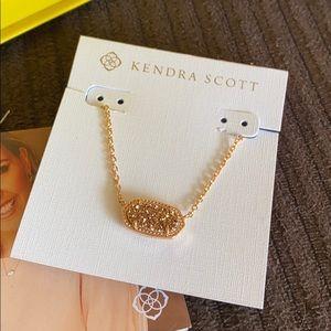 Kendra Scott Elisa Necklace in Rose Gold